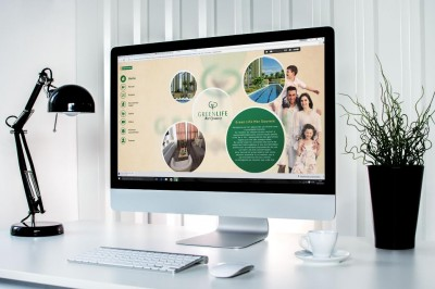 Aplicação multimídia Green Life.